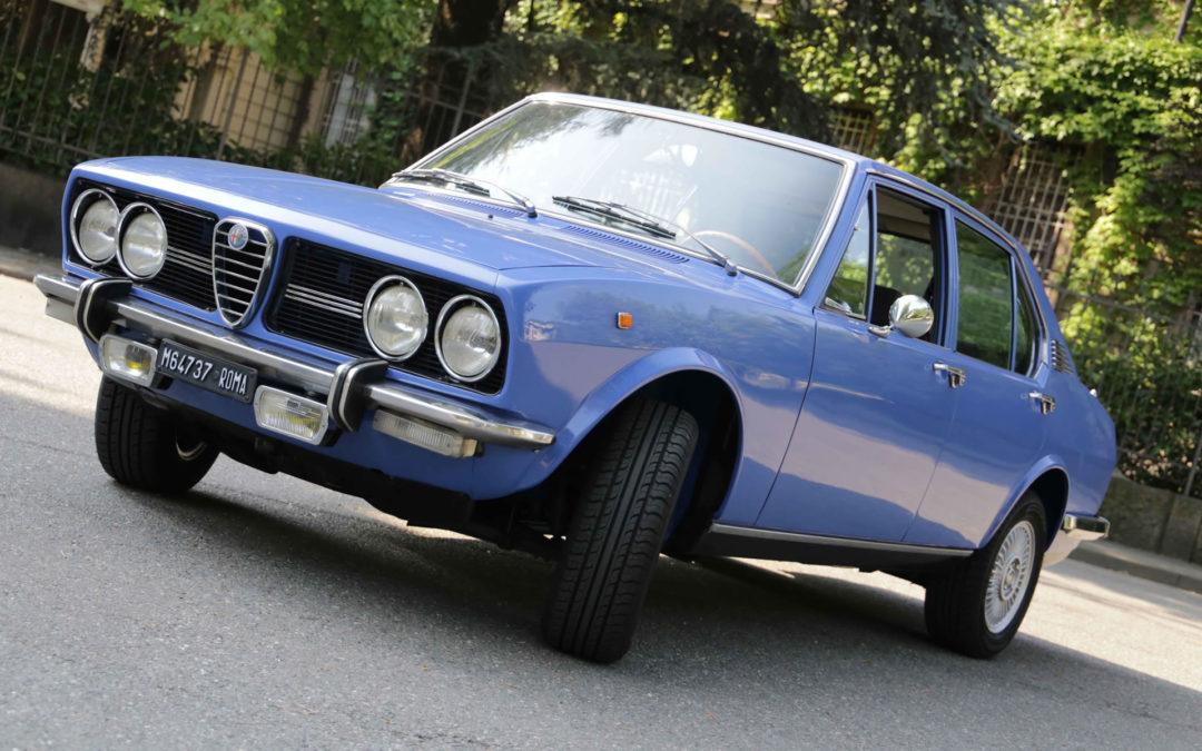 Alfa Romeo Alfetta 1.8: un viaggio nel sogno