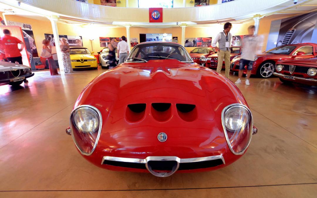 Alfa Romeo in scena al teatro